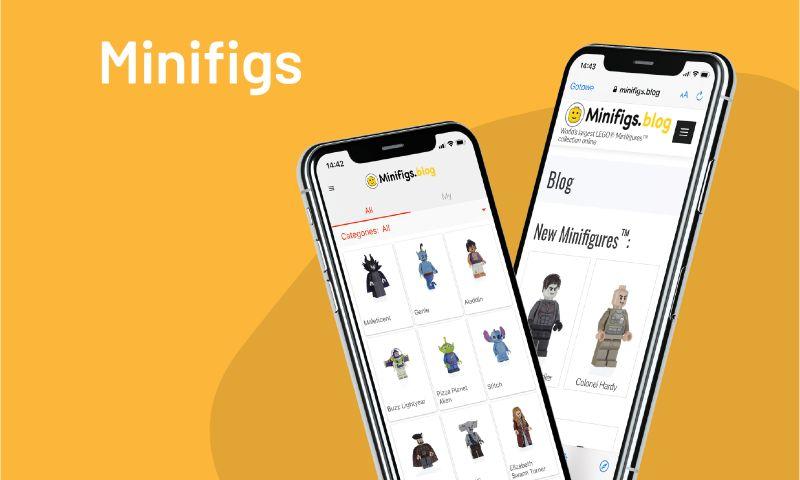 Giraffe Studio Apps - Minifigs