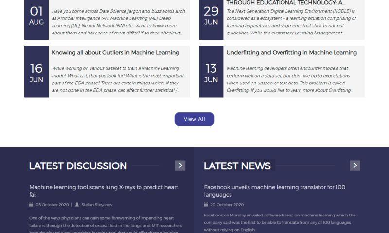 ZealousWeb - Data Science Foundation - Content Management Solutions