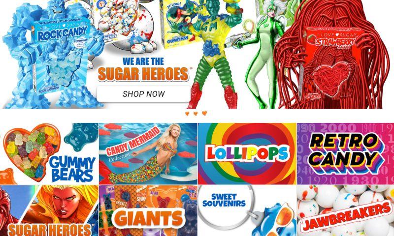 ZealousWeb - I Love Sugar - Ecommerce Solutions