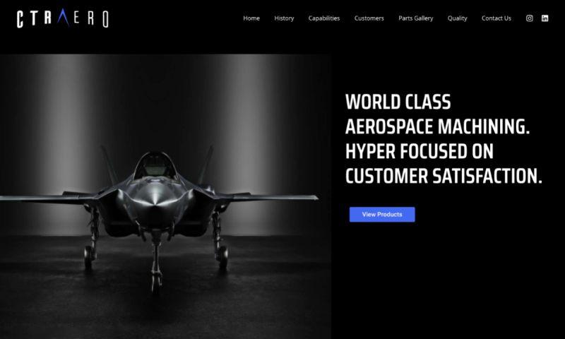 Agency Partner Interactive - CTR Aerospace: Custom Web Design & Branding