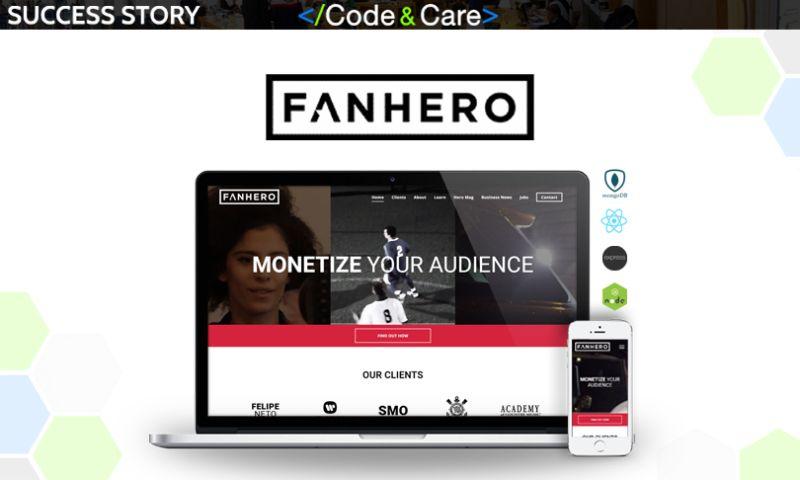 Code&Care - FANHERO: Monetizing Social Following