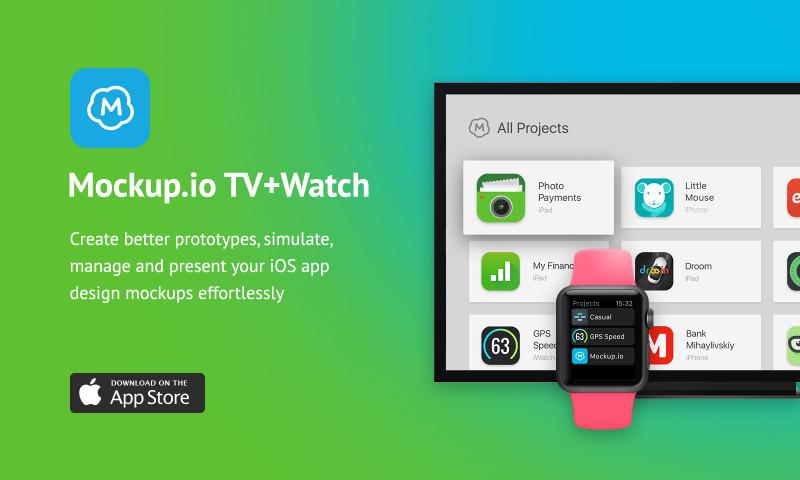 Alty - Mockup.io TV + Watch