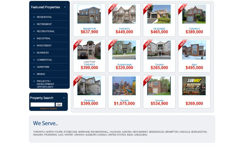 Iris Web Designs - Real Estate Website Design