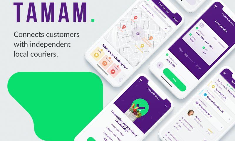 Geniusee LLC - Tamam Delivery App