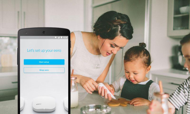 Mutual Mobile - eero Home WiFi   iOS & Android App
