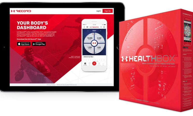Mutual Mobile - Under Armour Record & HealthBox