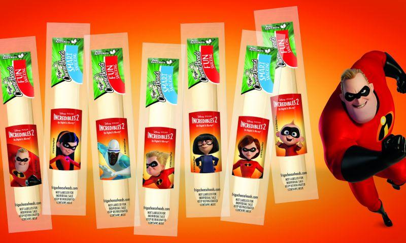 PKG Brand Design - Incredibles2 Cheese
