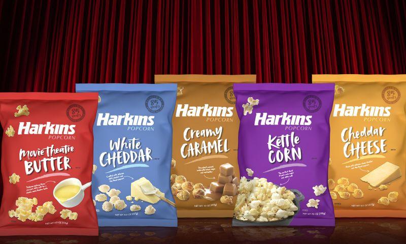 PKG Brand Design - Harkins Popcorn