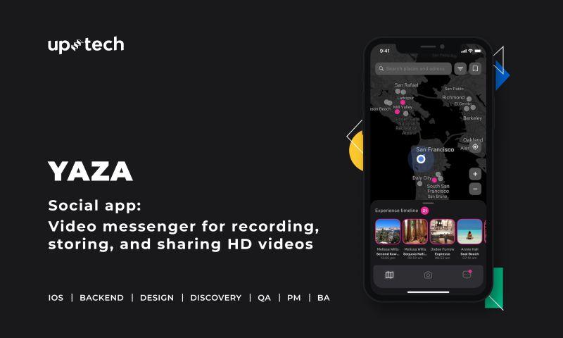 Uptech - Yaza - social media app