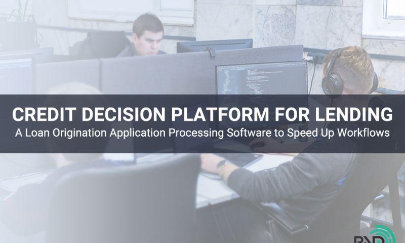RNDPOINT LTD - Credit Decision Platform for Lending