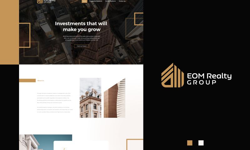Inkyy - Web Design for EOM Realty