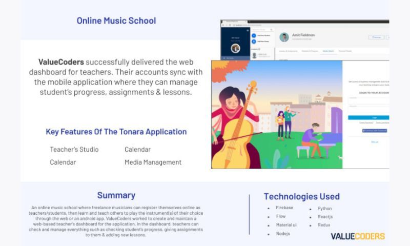 ValueCoders - ONLINE MUSIC SCHOOL