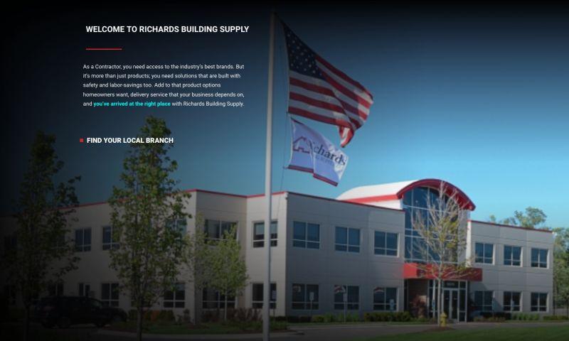 SEOAmerica, Inc. - Richards Building Supply