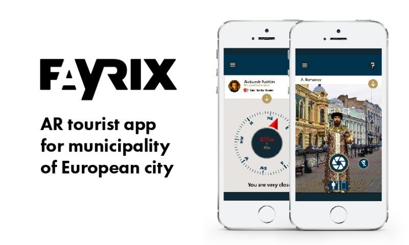 Fayrix Software - Staff augmentation for tourist app development