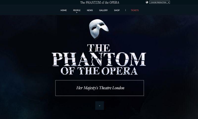 WP Agency - The Phantom Of The Opera