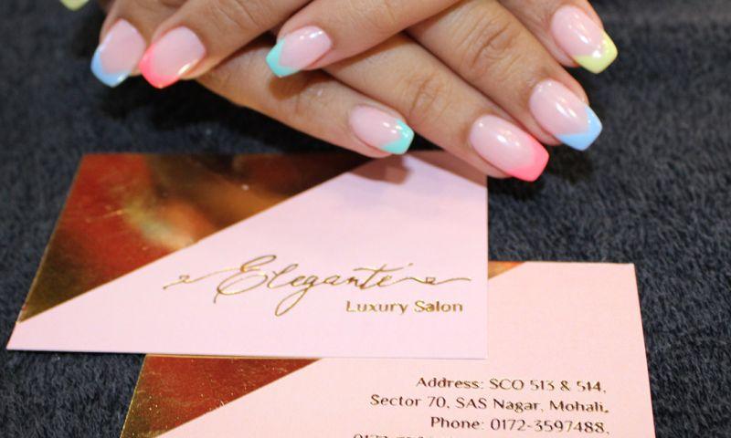 AMS Digital Agency - Elegante Luxury Salon