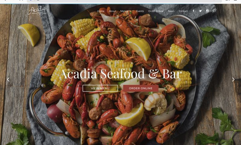 Ask the Egghead, Inc. - Acadia Seafood & Bar