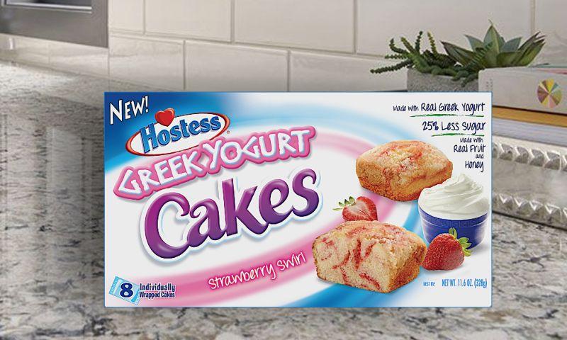 PKG Brand Design - Greek Yogurt Cakes