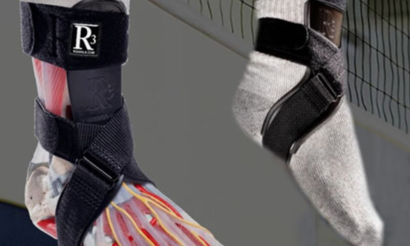 Auell Consulting - Anatomical Ankle Brace for Rapid Sprain Recovery