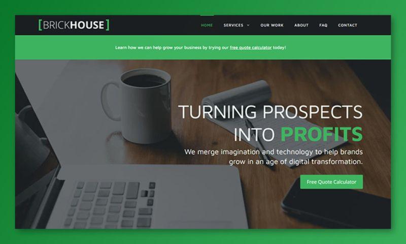 Brick House Web Design - Website Designs
