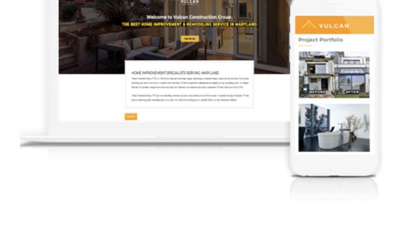 NAOSSOFT - Vulcan Construction Group Website
