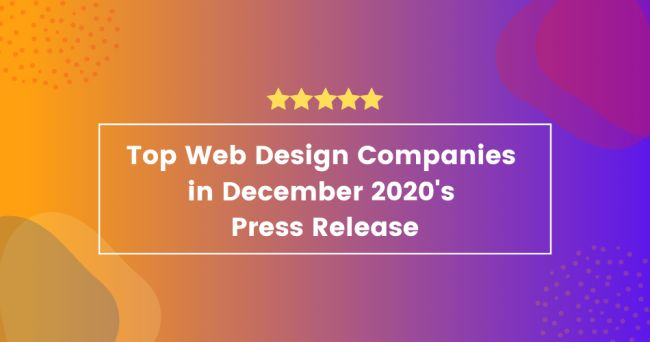 The Top Web Design Companies in December, According to New Report
