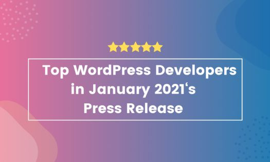 Top WordPress Developers in January, According to New Report