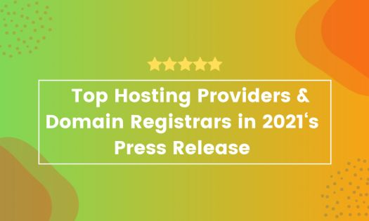 The Top Hosting Providers & Domain Registrars in 2021, According to New Report