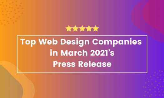 The Top Web Design Companies in March, According to New Report