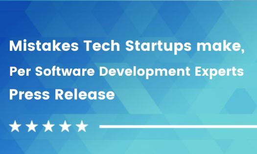 These are the biggest mistakes Tech startups make, according to the companies that develop their software products [DesignRush QuickSights]
