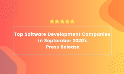 The Top Software Development Companies in September, According to New Report