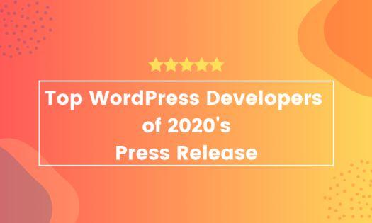 Top WordPress Developers of 2020, According to New Report