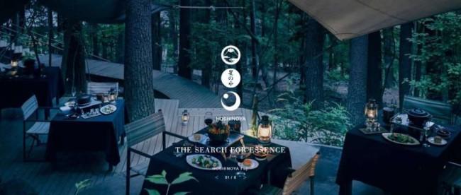 Hoshinoya screenshot website design