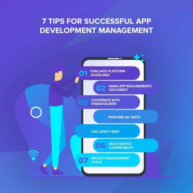 Tips for app development management