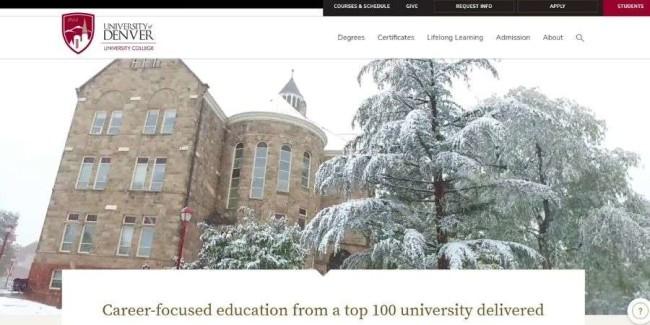 App development school: University College, Denver