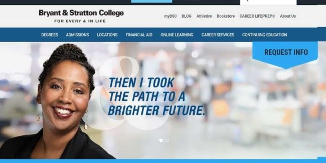 Bryant And Stratton College website