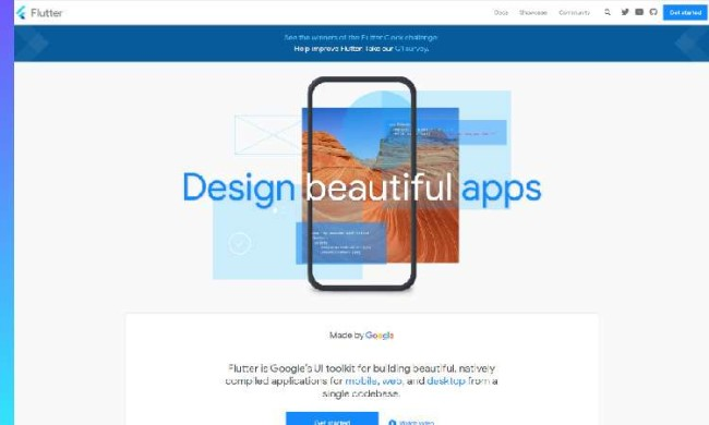 free app builders: Flutter