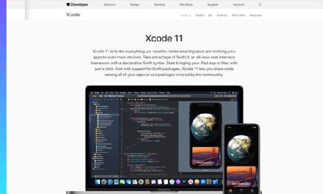Xcode website