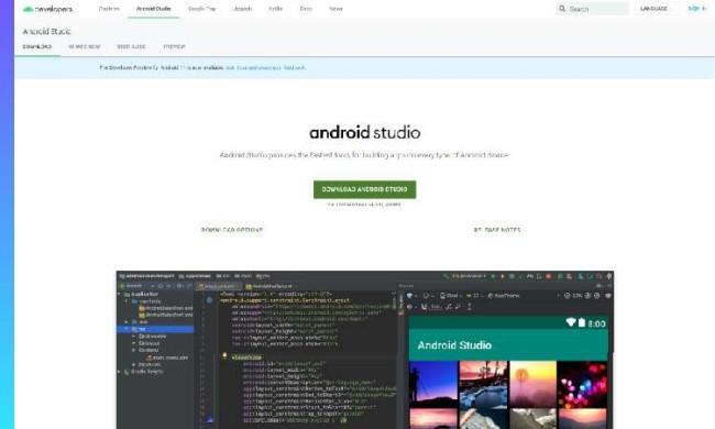 Android Studio website
