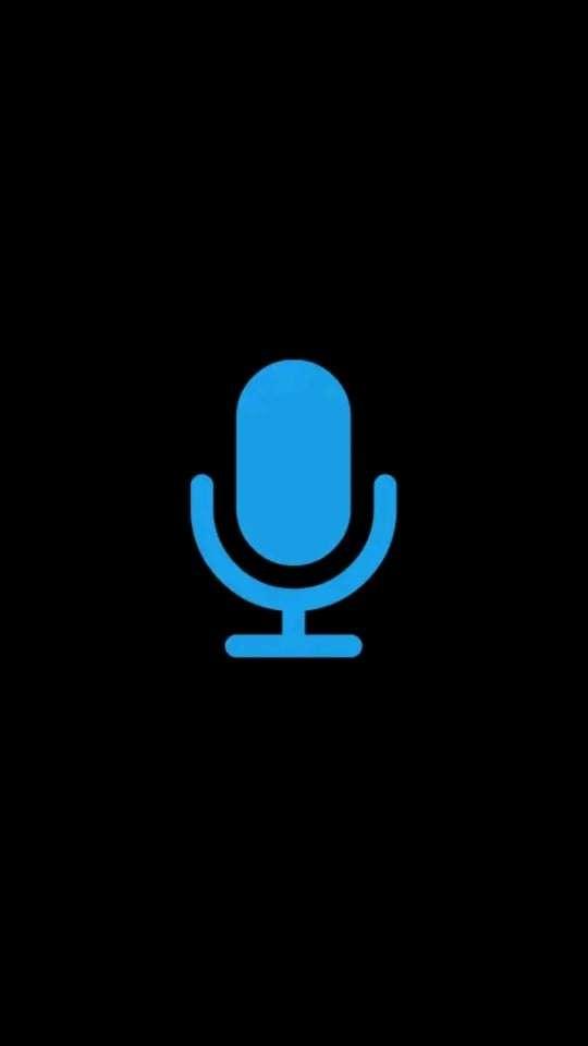 app design trends: Cortana voice search button