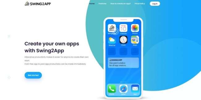 Swing2App platform