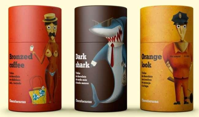 Food packaging design: Chocolouras