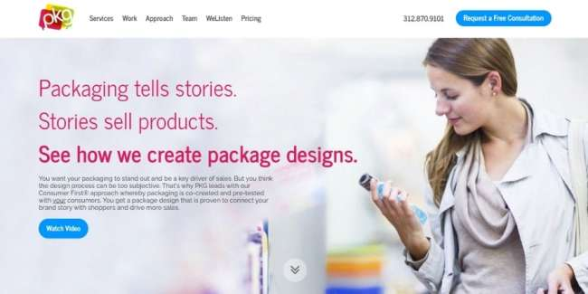 Best agencies: PKG Brand Design
