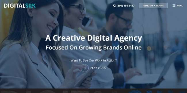 Digital Silk website