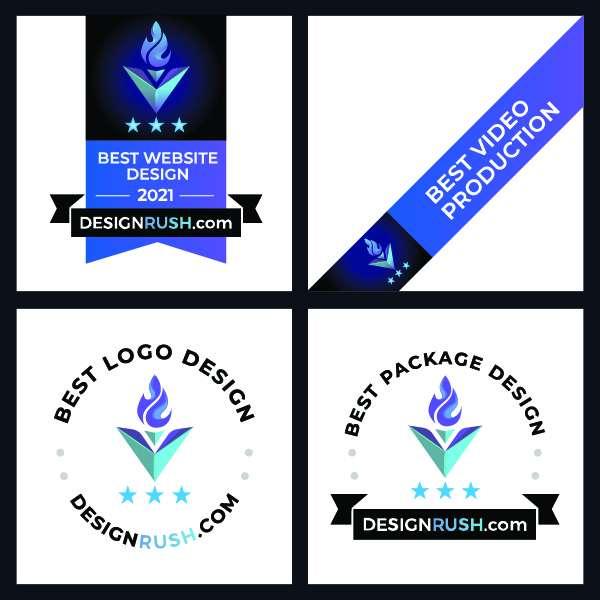 best design award badges