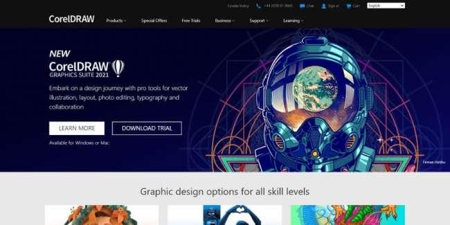 best graphic design software: CorelDraw