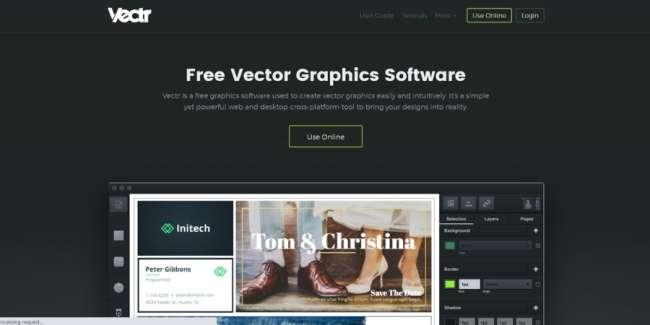 Vectr website