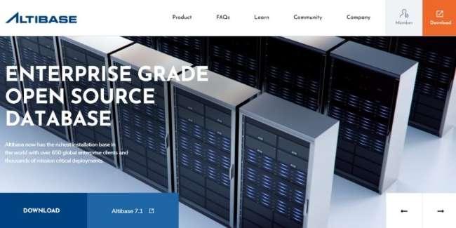 best database software: Altibase