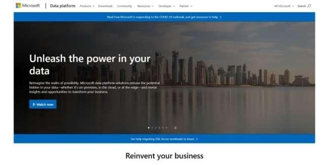 best database software: Microsoft SQL Server
