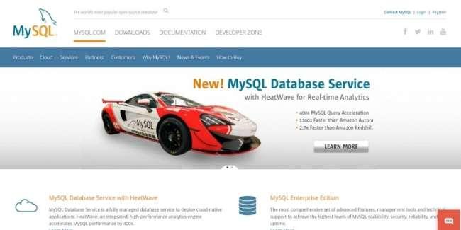 best database software: MySQL